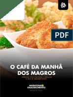Ebook - O Café da manhã dos magros