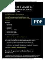Ativar Usando o Serviço de Gerenciamento de Chaves (Windows 10) _ Microsoft Docs