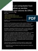 Configurar Um Computador Host KMS Para Ativar as Versões Licenciadas Por Volume Do Office _ Microsoft Docs