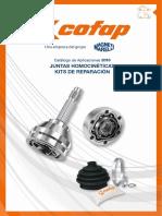 COFAP - Juntas Homocineticas - Catalogo 2018 v1