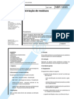ABNT ISO NBR 10005