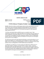 2021-01-29, NCDOL Releases Workplace Fatality Count for 2020