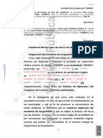 Suspensión Provisional A.I. 118.2021