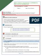 GUÍA+Clasificación+de+Los+Seres++GRADO+TERECERO+AÑO+2021