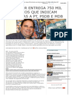 Delator entrega 750 mil áudios que indicam propinas a PT, PSDB e MDB _ Brasil 247