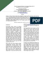 Pengaruh Temperatur Tuang dan Ketebalan Cor terhadap Fluiditas ADC 12