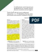 Ordoñez, Gerardo - Tijuana ante el confinamiento social impuesto por Covid 19