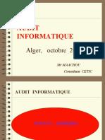 Méthode et outils d'audit informatique