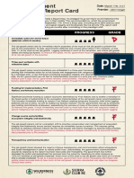 Old-Growth Report Card