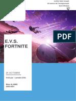 Dossier E.V.S. octobre 2020