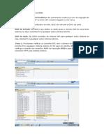 Etapas de configuração em IDOC