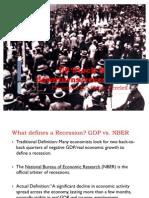 US Stock Market Downturns & Recessions (1)