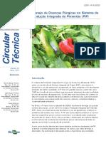 Manejo de Doenças Fúngicas No Sistema de Produção Integrada de Pepino