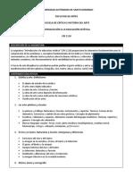 Programa De la Escuela (1)