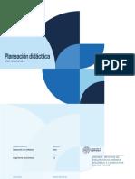 PLANEACION FDIDACTICA  UNIDAD 3 DS-DINE-2101-B1