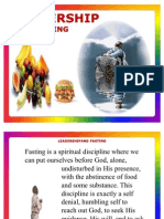 Leadership and Fasting