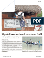Tigertail Concessionaire Contract Ok'd - Naples Daily News March 11, 2021