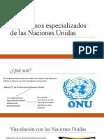 Súper Organismos Especializados de Las Naciones Unidas (1)