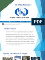 hidrodinamica y proyectos cd juarez presentacion  v2