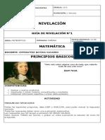 10-3 NIVELACIÓN MATEMÁTICA