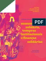 Livro MEDEIRO DUBEUX VILAÇA - EcoSol e Compras Institucionais