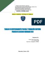 Trabajo a Distancia Reentrenamiento Policial y Formacion Continua - 2021