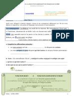 COD, COI, COS - Les essentiels - document eleve