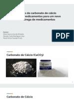 Nanopartículas Carbonato