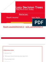 Boosting Lazy Decision Trees