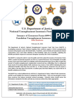 NUIFTF Alert, Erroneous Forms 1099-G Due to UI Fraud, And Helpful Links 3-10-21