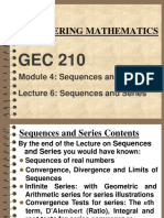 GEC 210 Lecture Note 6 Series-1
