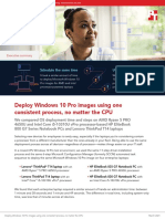 Deploy Windows 10 Pro images using one consistent process, no matter the CPU - Summary