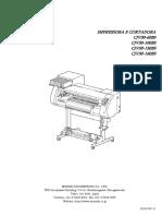 CJV30BS Manual Operacional
