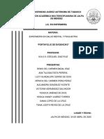 PORTAFOLIO DE EVIDENCIAS. ENFERMERIA PSIQUIATRICA