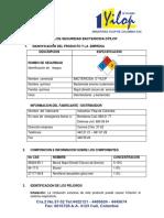 HOJA DE SEGURIDAD BACTERICIDA D´YILOP-2015