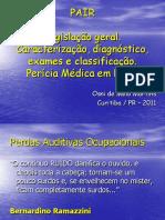 PAIR - legisl caract diag exames classif e pericia - rev. 11.2011