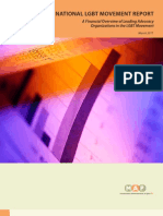 2010 National Lgbt Movement Report