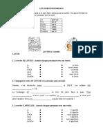 Les Verbes Pronominaux Exercice Grammatical Guide Grammatical 48500