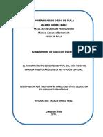 El Adiestramiento Sensoperceptu - Arnaiz Paez, Yakelin
