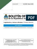 Boletín Oficial 11 de marzo
