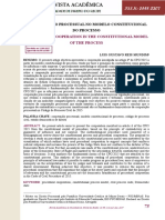 A Cooperação No Modelo Constitucional Do Processo