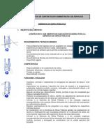TDR G. Obras Publicas