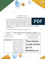 Paso 4 - DINAMICA DE GRUPOS G
