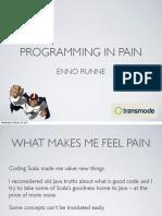 Programming In Pain