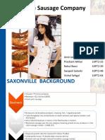 caso saxonville sausage