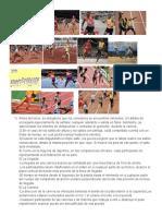 Atletismo reglas