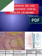 Influencia  de  los  estrógenos  con el cáncer  de