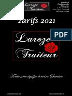 Carte Complete Laroze 2021