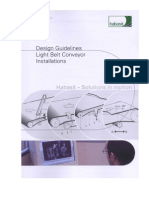 Design Guidelines Conveyors