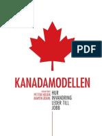 Kanadamodellen - Hur invandring leder till jobb